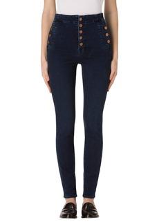 J Brand Natasha Sky High High Waist Skinny Jeans
