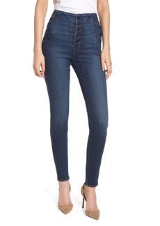 J Brand Natasha Sky High High Waist Skinny Jeans (Revival) (Nordstrom Exclusive)