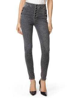 J Brand Natasha Sky High High Waist Super Skinny Jeans (Obscura)