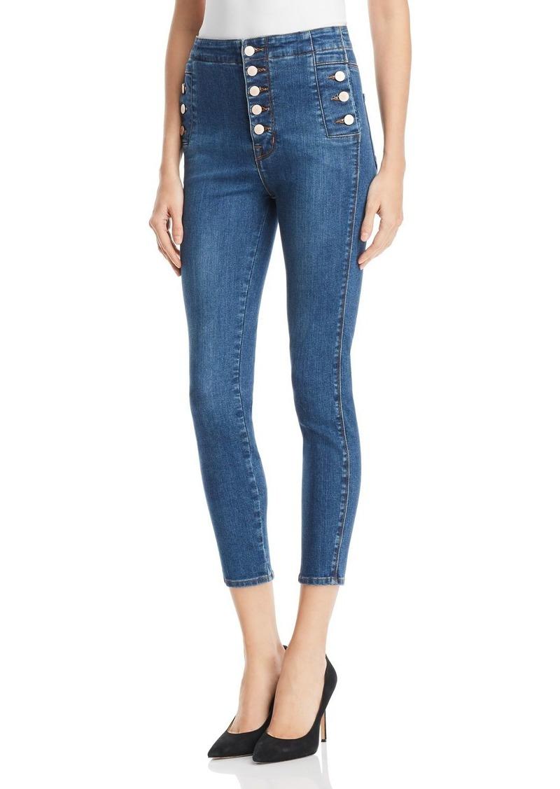 J Brand Natasha Sky High Skinny Crop Jeans in Lovesick