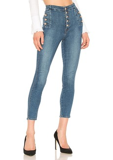 J Brand Natasha Sky High Skinny Cropped Jean