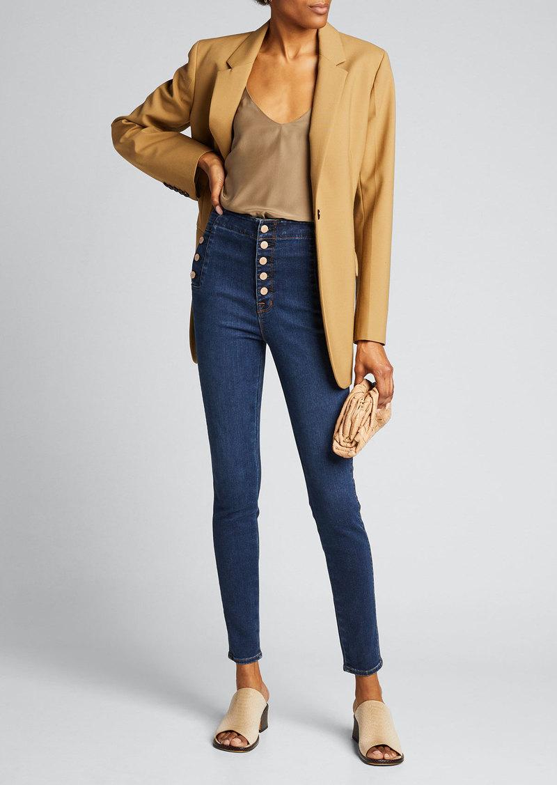 J Brand Natasha Sky High Skinny Jeans - Inclusive Sizing