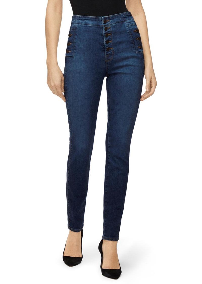 J Brand Natasha Sky-High Skinny Jeans