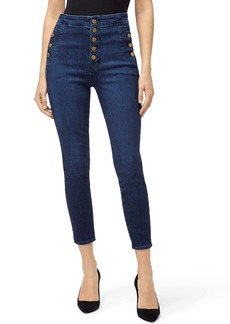 J Brand Natasha Sky High Waist Crop Skinny Jeans (Untamed)