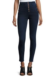J Brand Natasha Sky High-Waist Skinny Jeans