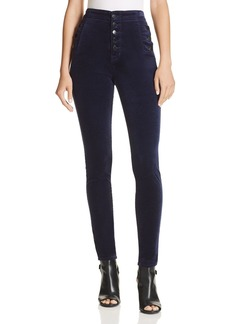 J Brand Natasha Super Skinny Velvet Jeans in Night Out - 100% Exclusive