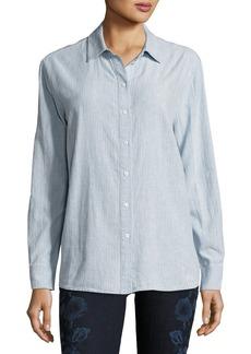 J Brand Pacific Long-Sleeve Linen-Cotton Shirt