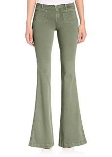 J BRAND Photo Ready Demi Patch Pocket Flare Jeans