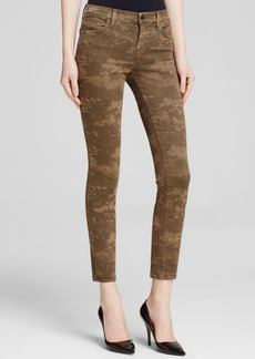 J Brand Jeans - Photo Ready Mid Rise Cropped Skinny in Camo