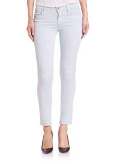 Photo Ready Mid-Rose Cropped Rail Jeans