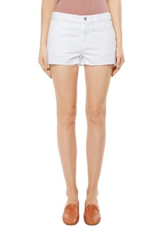J Brand Raw Hem Denim Shorts