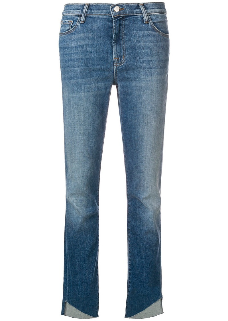 J Brand raw hem jeans