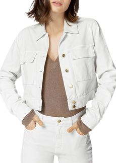 J Brand Ray Cropped Corduroy Jacket