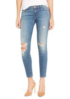 J Brand Ripped Crop Skinny Jeans (Mischief)