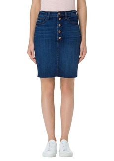J Brand Roleen Cutoff Denim Skirt (Luna Rose)