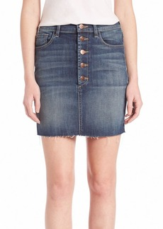J BRAND Rosalie Button Skirt