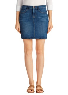 J Brand Rosie Denim Miniskirt (Boundless)