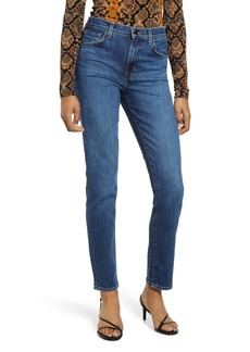 J Brand Ruby 30 High Waist Straight Leg Jeans (Romance)
