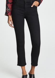 J Brand Ruby High Rise Crop Cigarette Jeans