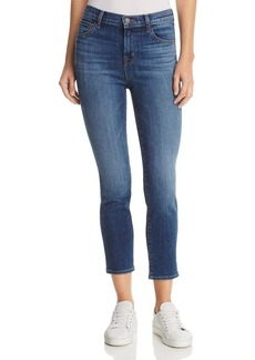 J Brand Ruby High Rise Crop Jeans in Decoy