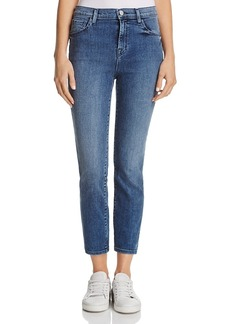J Brand Ruby High Rise Crop Skinny Jeans in Dreamer - 100% Exclusive