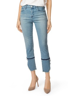 J Brand Ruby High Waist Crop Cigarette Jeans (Patriot)