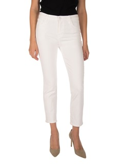 J Brand Ruby High Waist Crop Jeans (Blanc)