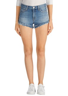 J Brand Sachi Cutoff Denim Shorts (Bleach Wrecked)