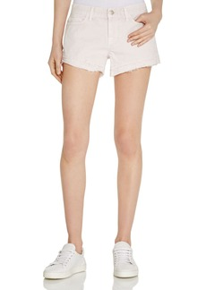 J Brand Sachi Low Rise Cutoff Shorts in Vintage Orchid Ice