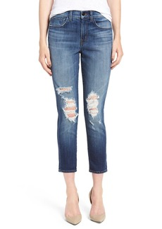 J Brand 'Sadey' Crop Slim Straight Leg Jeans