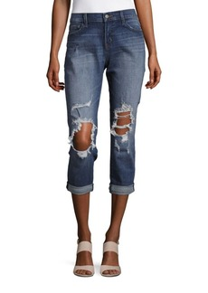 J BRAND Sadey Slim Cropped Jeans