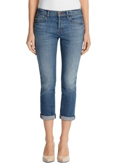 J Brand 'Sadey' Slim Straight Crop Jeans (Isolated)