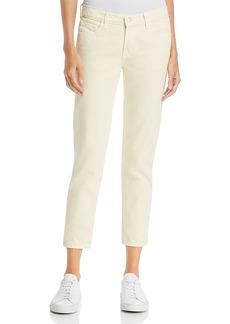 J Brand Sadey Slim-Straight Jeans in Butter