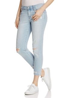 J Brand Sadey Straight Jeans in Superstar Destruct