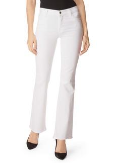 J Brand Sallie Bootcut Jeans (Blanc)