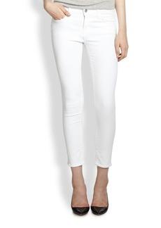 J Brand 835 Sateen Mid-Rise Capri Jeans