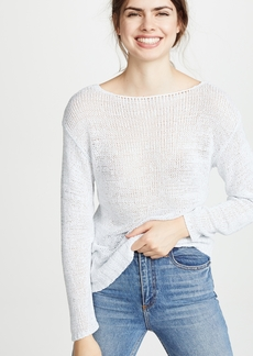 J Brand Seascape Scoop Back Sweater