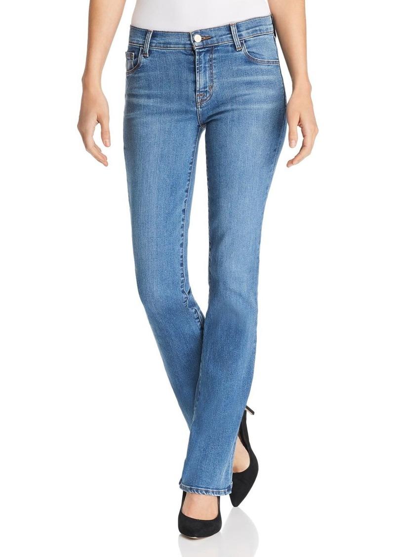 J Brand Selena 32 Mid Rise Bootcut Jeans in Lovesick