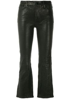 J Brand Selena boot cut trousers - Black