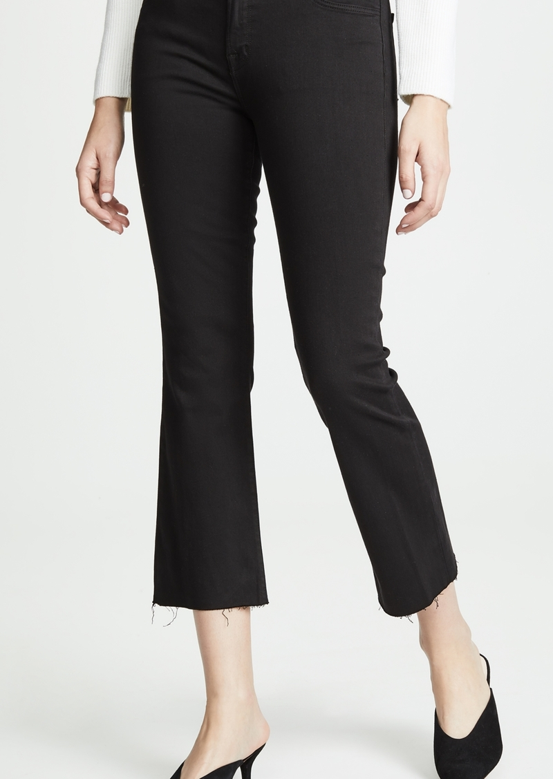 J Brand Selena Crop Boot Cut Jeans