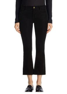 J Brand 'Selena' Crop Bootcut Corduroy Pants