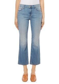 J Brand Selena Crop Bootcut Jeans (Balearic)
