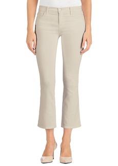 J Brand Selena Crop Bootcut Jeans (Distressed Silver Birch)