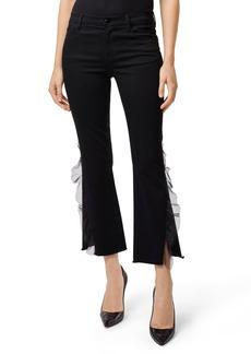 J Brand Selena Crop Bootcut Jeans (Evening Haze)