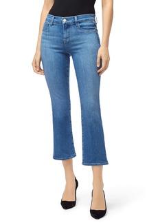 J Brand Selena Crop Bootcut Jeans (True Love)
