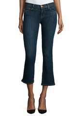 J Brand Selena Cropped Boot-Cut Jeans  Lonesome