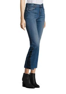 J BRAND Selena Cropped Bootcut Jeans