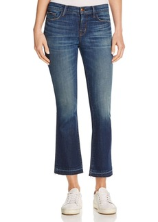 J Brand Selena Cropped Bootcut Jeans in Undertow