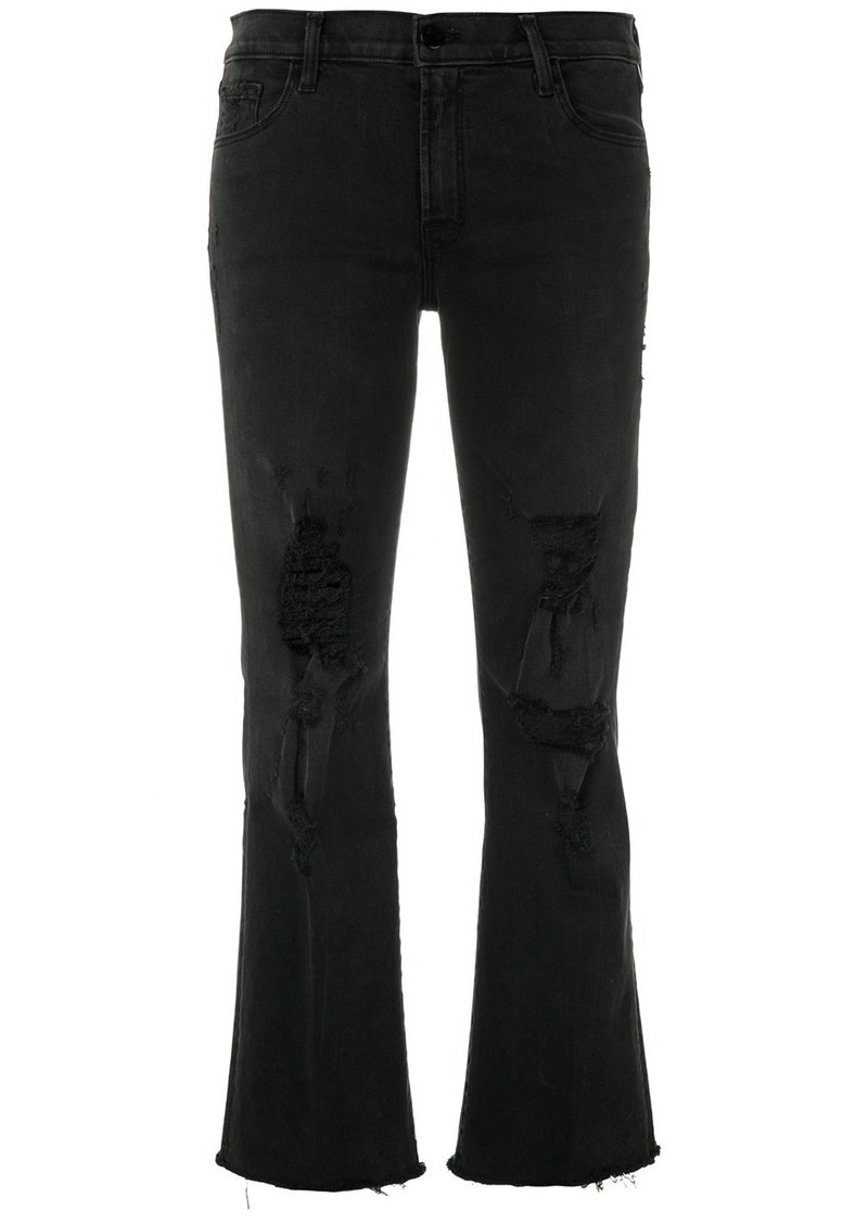 J Brand Selena distressed jeans