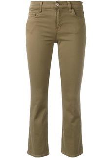 J Brand Selena kick flare jeans - Nude & Neutrals